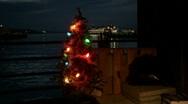 Homeless Christmas 2 (push) Stock Footage