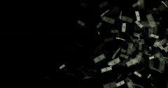 MONEY 1 - stock footage