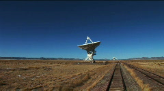 Verry Large Array Stock Footage