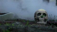 Halloween scene 1 Stock Footage
