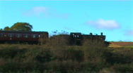 Stock Video Footage of steam train