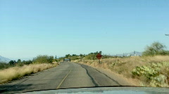 Rough road ahead Stock Footage