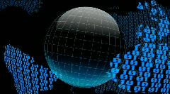 Digital Globe Stock Footage