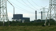 Stock Video Footage of Nuclear power station Brunsbüttel