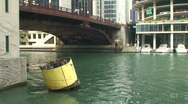 Stock Video Footage of ChicagoRiverBoat1