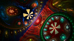 Fractal Feelin'groovy - stock footage