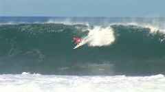 Big wave closeout  Stock Footage