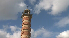 Time lapse old Lighthouse Stock Footage