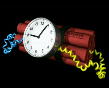 Time Bomb PAL Stock Footage