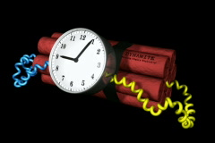 Time Bomb NTSC Stock Footage