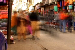 India market Stock Footage