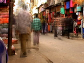 Stock Video Footage of India market