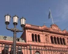 Casa Rosada top (Buenos Aires) - stock footage