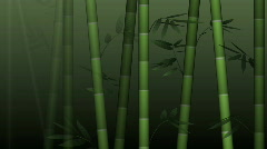 Bamboo forest background - HD, loop  Stock Footage