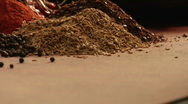 Stock Video Footage of mexican spices