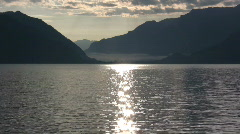 "Lake Thun ""Thunersee"" Switzerland Stock Footage"