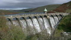 Craig Goch reservoir. Stock Footage