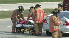 Accident Scene 3 Stock Footage