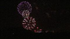Fireworks 2. Stock Footage