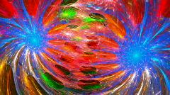 Twin spirals Stock Footage