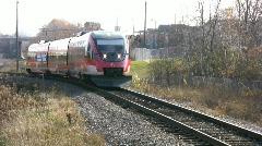 Ottawa Light Rail Train The O Train Canada - stock footage