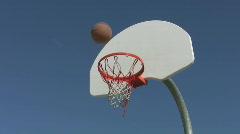 Basketball. Stock Footage