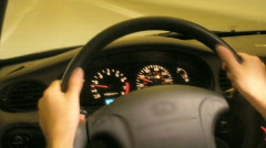 Dash Board Time Lapse 02 Stock Footage
