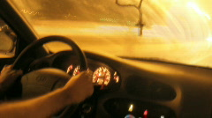 Dash Board Time Lapse 01 Stock Footage