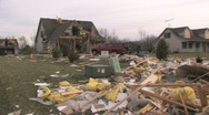 Destroyed Home 4 Stock Footage