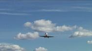airbus landing Stock Footage