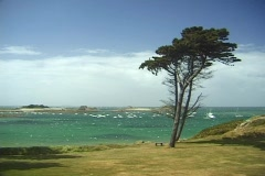 French coast Stock Footage
