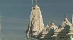 Hindu Temple Architecture - stock footage
