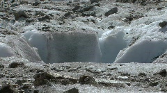 Melting glacier Stock Footage
