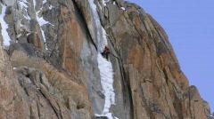 Ice climbers Stock Footage
