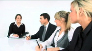 Business meeting Stock Footage
