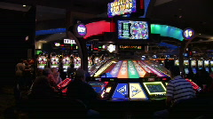 Slot Machines in a Casino - stock footage