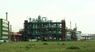 Stock Video Footage of Petrochemical Refinery