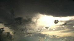 Dark Sunset  Stock Footage