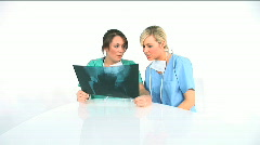 Healthcare workers Stock Footage
