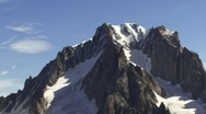 Alps mountain zoom out Stock Footage