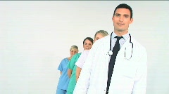 Medical team Stock Footage