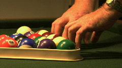 Billiard Balls 01 Stock Footage