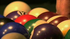 Billiard Balls 02 Stock Footage