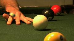 Billiard Balls 04 Stock Footage