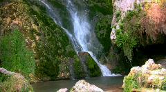Mountain Waterfall 2 Stock Footage
