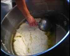 Tofu production - stock footage