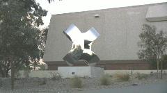 Modern art sculpture - 1 Stock Footage