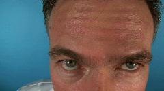 Fisheye doctor syringe Stock Footage