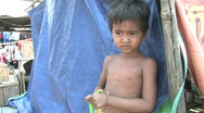 Stock Video Footage of Cambodia: Poor kids