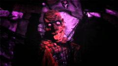 Dead Guy strobes released HD - stock footage